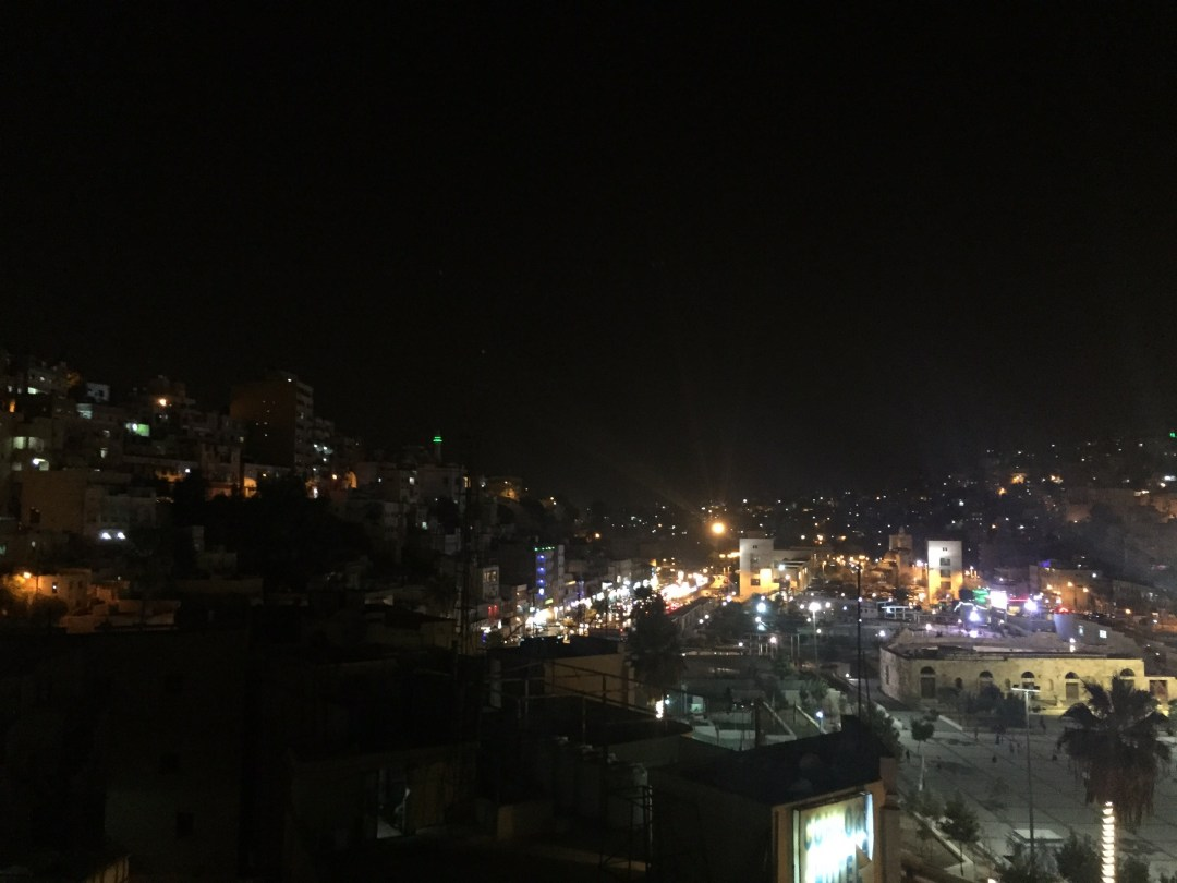 Amman night time view