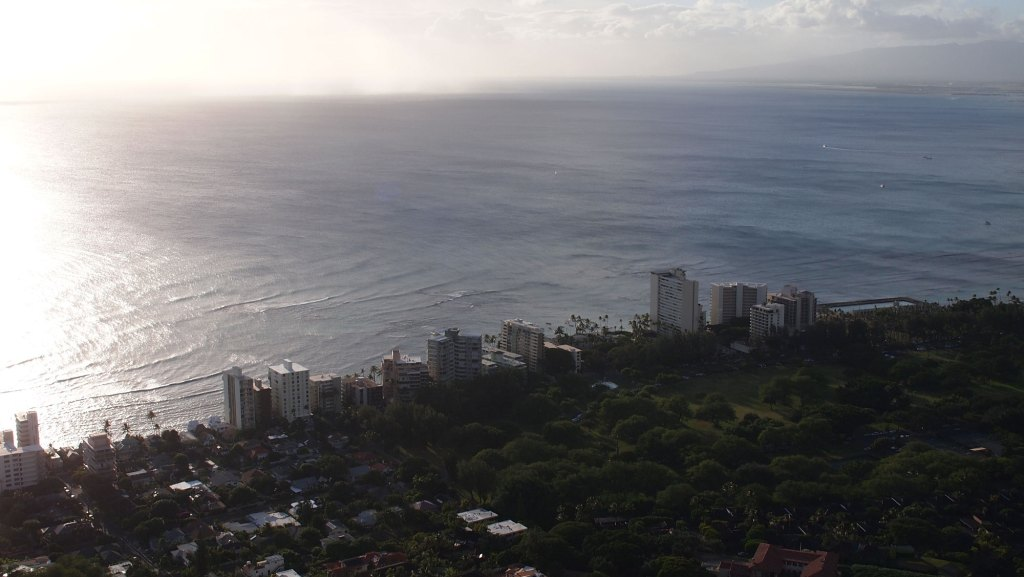 Oahu View from Diamond Head