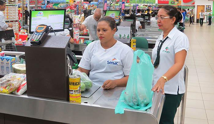 Operador de Supermercado, Hostess - R$ 1.264,00 - Ter boa fluência verbal, ser organizado - Rio de Janeiro