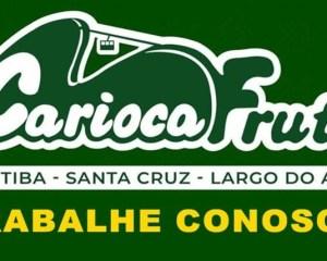 Carioca Fruti abre vagas para Repositor, Operador de Caixa, Fiscal de Loja - Rio de Janeiro