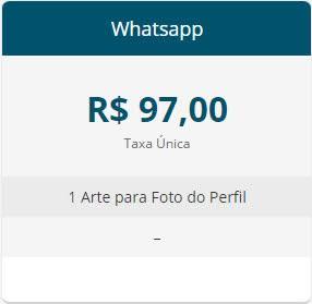 Whatsapp - Criação de Artes para Redes Sociais