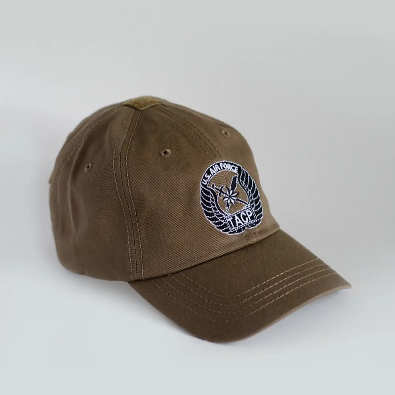 Rip-6-Inc-coyote-brown-TACP-hat-front