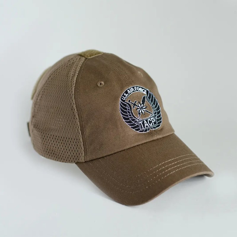 Rip-6-Inc-coyote-brown-mesh-TACP-hat-front
