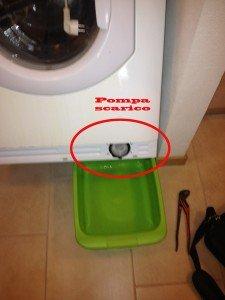 lavatrice non scarica