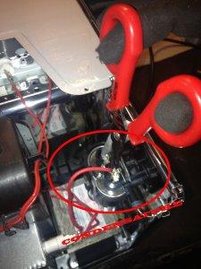 scaricare condensatore
