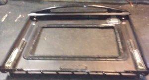 vetro della porta forno scollato