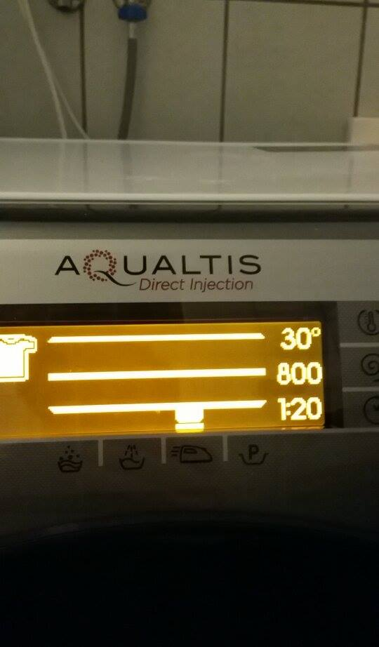 Scheda Display Lavatrici Aqualtis Hotpoint Riparodasolo