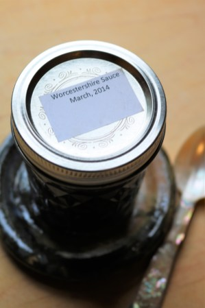 Bill's Worcestershire sauce
