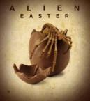 Chocolate alien egg