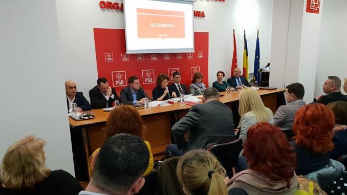 Alegeri la PSD Dâmbovița