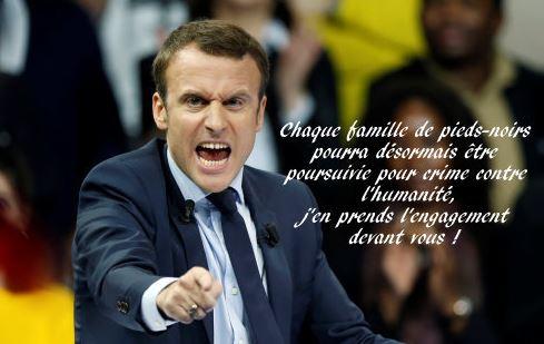 Macron et l'Algérie : un traître pareil ne peut pas gouverner la France