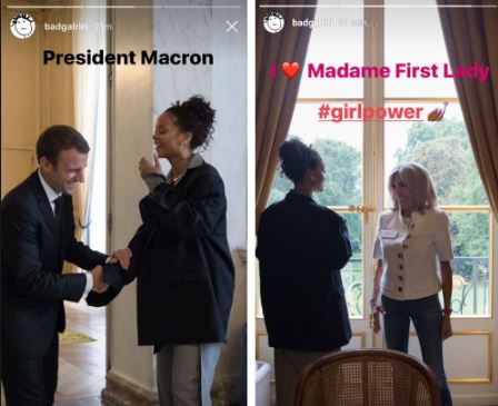 Les tourtereaux Macron accueillent nos futurs assassins, et ils rigolent !