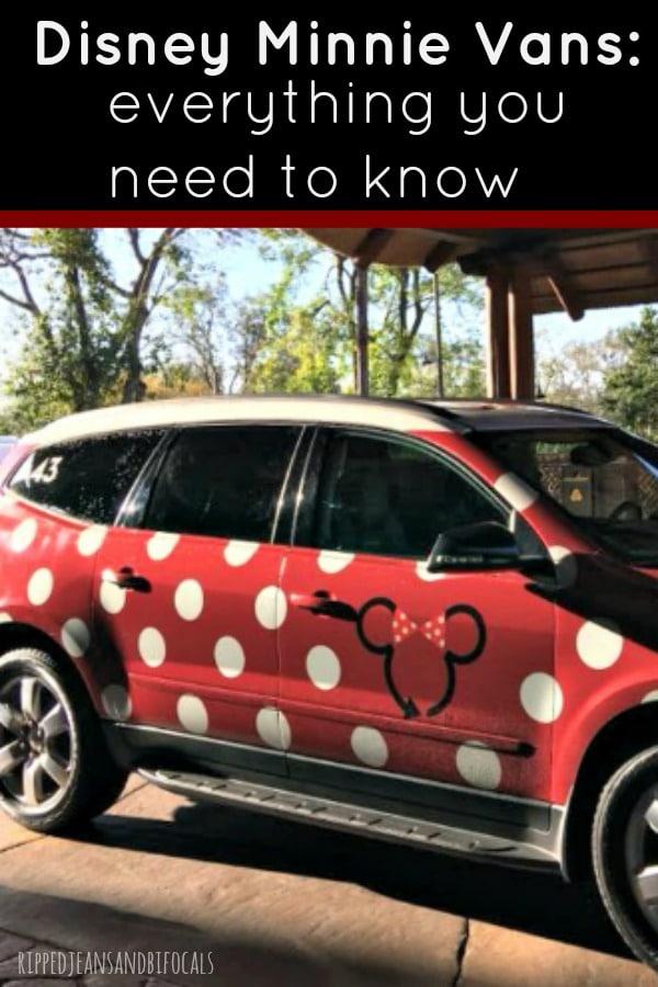 Disney Minnie Van Services is a great Disney Transportation option