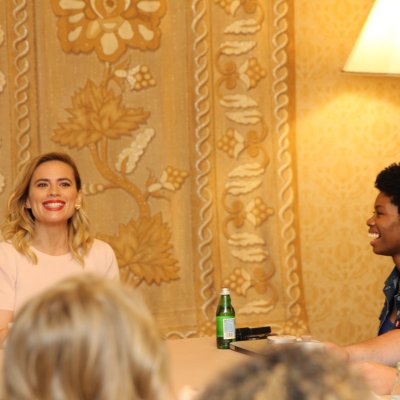 The reason why moms are virtual high five-ing Evelyn Robin – Interview with Hayley Atwell #ChristopherRobinEvent