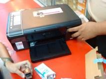 Testing the printer