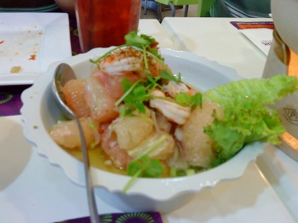 Pomelo and Squid Salad