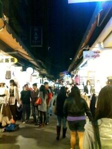 Walking at WuFenPu