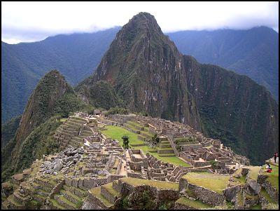Majestic Machu Picchu.