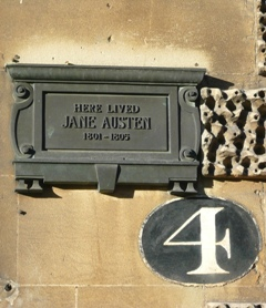 Jane Austen's Residence No. 4 SydneyPlace