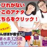 たんぽぽ白鳥&川村のダイエット方法!痩せた酵素水素サプリの評判は?