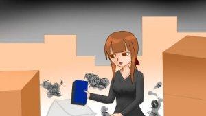 【4コマ】同棲解消は苦労しかない!大変だった破局後の引っ越し話