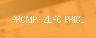 prompt zero price