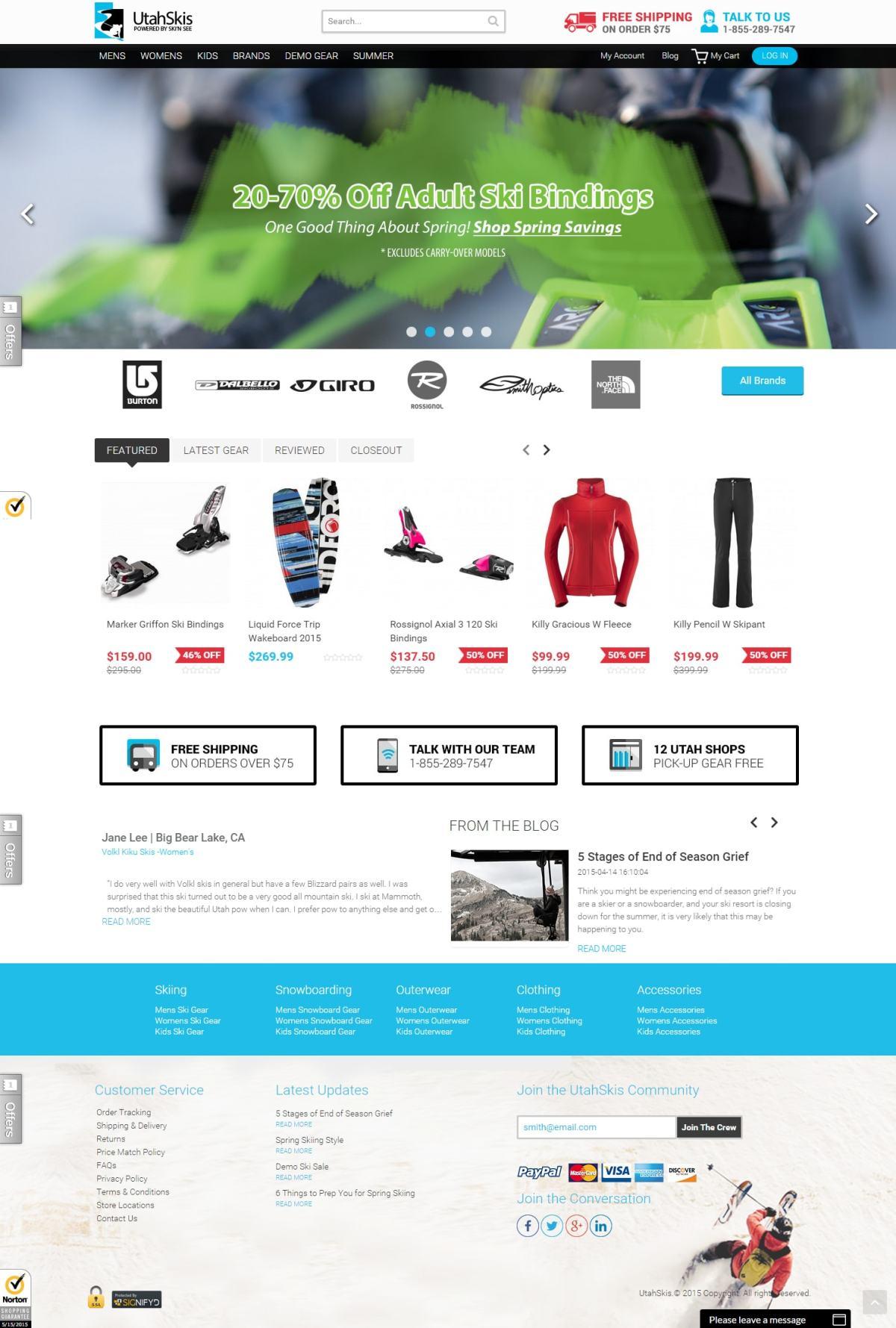 utahskis-ecomm-website
