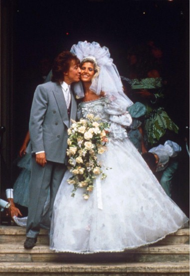 Wedding Victoria Gotti And John