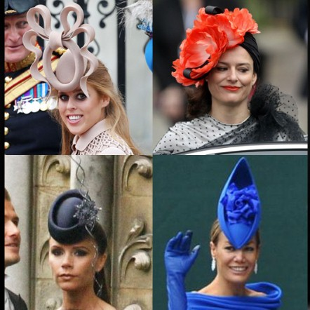Great Day For Fascinators At The Royal Weddin Prettycool