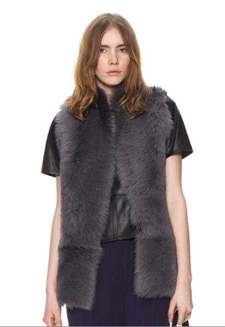 Sheepskin Gilet Whistles Telegraph