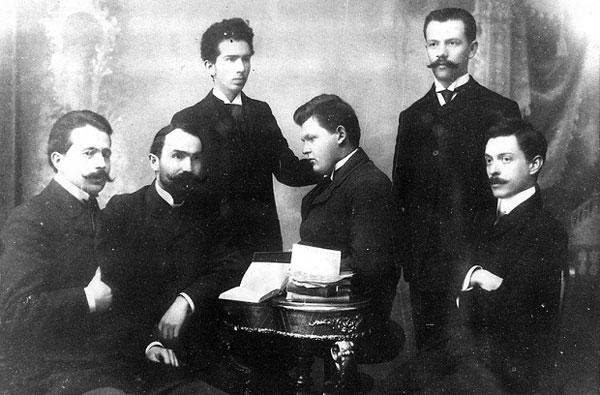 Alexandru Lapedatu și alți tineri intelectuali români, perioada interbelică