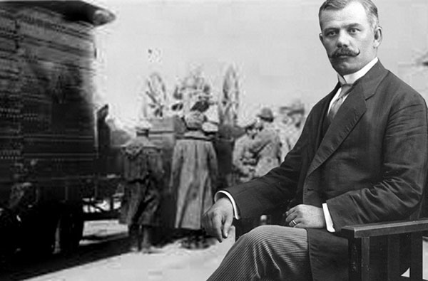 Alexandru Lapedatu a însoțit trenul cu Tezaurul României la Moscova
