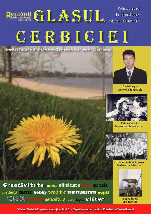 Book Cover: Glasul Cerbiciei nr. 9