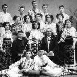 Corul vocal român din Biserica Albă, 1911