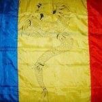 Stindardul dac și drapelul României