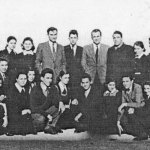 Elevii Școlii Normale din Vârșeț