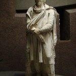 Statui de daci în grădina Borghese Roma