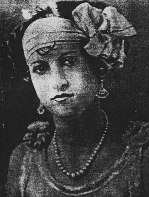 Vera Renczi poreclită Văduva Neagră