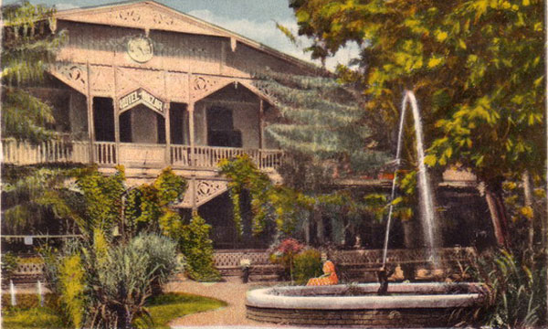 Băile Buziaș, județul Timiș, Hotel Bazar, în anul 1936