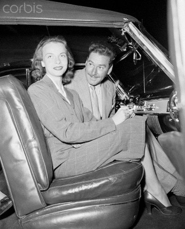 Irene Ghica și Errol Flynn
