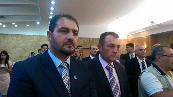 Aspect de la întâlnire: Dușan Pârvulovici, Dorinel Stan și Ovidiu Lupșor
