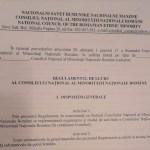 Consiliul Național Român o instituție de paradă