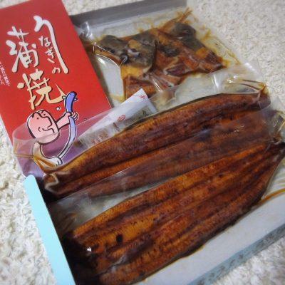 鰻のかば焼きセット