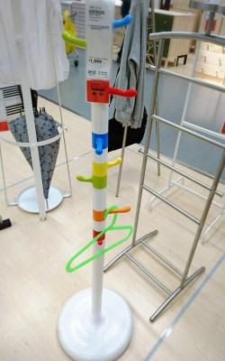 IKEA ハンガーラック 子供用 制服 イケア