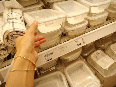IKEA フードキーパー ガラス容器