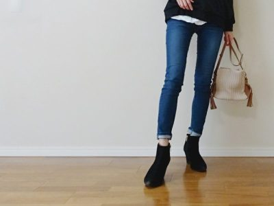 PIerrot スキニーデニム 足がきれいに見える 柔らかい