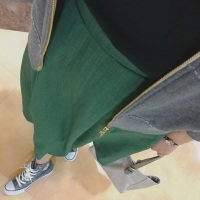 スカート 30代ママ 春夏 薄手