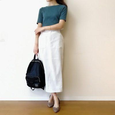 DUNA ロングスカート 動きやすい ミモレ丈  UNIQLO