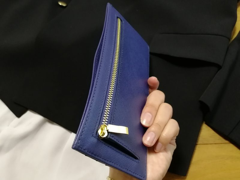 MURA 薄型財布 革 軽い 小銭 カード