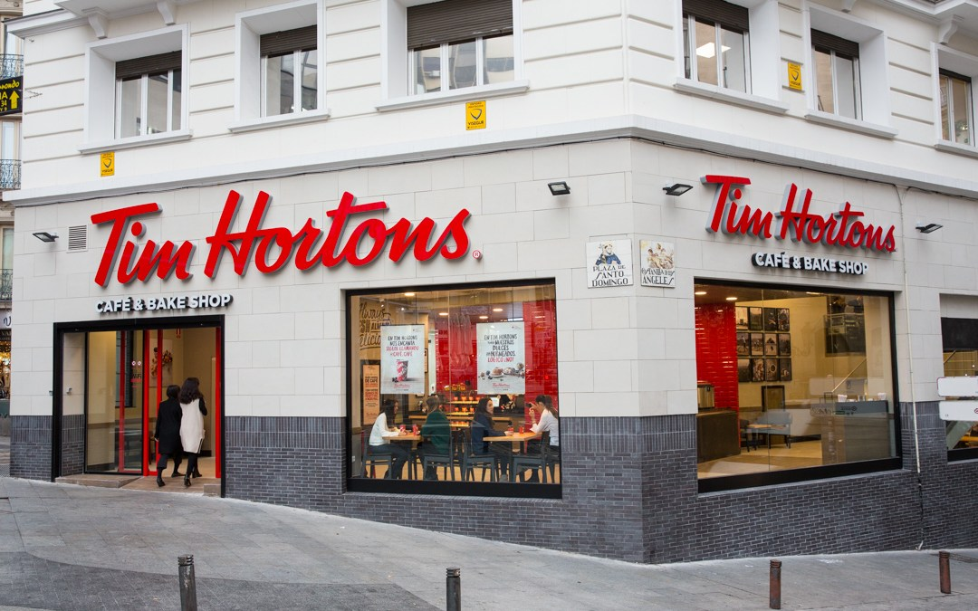 Tim Hortons Madrid.